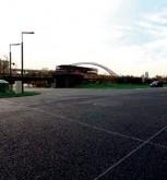 混凝土停车场